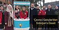 'Çevreci Gençler'den Erdoğan'a Davet