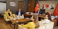 CHP Genel Başkan Yardımcısı Erdoğdu'dan ziyaret