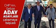 CHP'nin Gebze adayları çalışmaya başladı