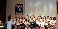 Çocuk korosundan Anneler Gününe özel konser