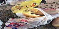 Çöplükler ekmekle dolu