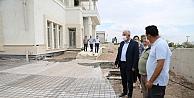Darıca'daki modern spor salonunda çalışmalar hızla devam ediyor