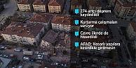 Depremde ölenlerin sayısı 22'ye yükseldi, yaralı sayısı 1030