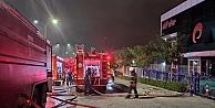 Dilovası'nda spor malzemeleri üreten fabrikada çıkan yangın söndürüldü