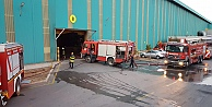 Galvaniz fabrikasında çıkan yangın hasara yol açtı