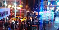 Gebze'de halk ötobüsü ile taksi çarpıştı: 3 yaralı