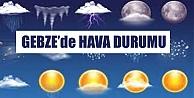 Gebze'de Hava Durumu