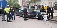Gebze'de kamyonetin çarptığı hurda toplayıcı yaralandı