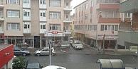 Gebze'de kar yağışı