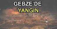 Gebze'de Samanlık Yangını