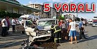 Gebze'de Trafik Kazası: 5 Yaralı