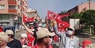 Gebzede vatandaşlar bayram coşkusuna evlerinden eşlik etti