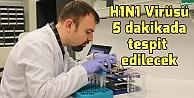 H1N1'i 5 dakikada tespit eden cihaz geliştirdi