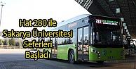 Sakarya Üniversitesi Seferleri Başladı
