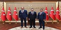 Hüseyin Aksoy'a Veda Ziyareti