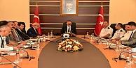 İl Spor Güvenliği Toplantısı, Aksoy'un Başkanlığında Gerçekleştirildi.