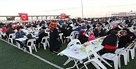 İlk iftar sofrası Mollafenari'de kuruldu