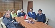 İMO'dan Cengiz İpek'e Ziyaret