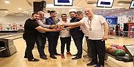 İZAYDAŞ'ta Erkekler Bowling Turnuvası