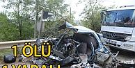 İzmit'te zincirleme kaza: 1 ölü
