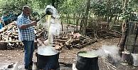 Kandıra'da üretilen şeker kamışı pekmezi