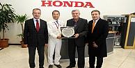 Karaosmanoğlu Honda fabrikasını ziyaret etti!