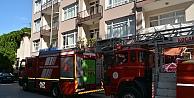 Kocaeli'de doğal gaz borusundan sızıntı sonucu çıkan yangın söndürüldü