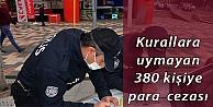 Kocaeli'de Kovid-19 tedbirlerine uymayan 380 kişiye para cezası verildi
