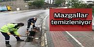 Kocaeli'de mazgallar temizleniyor