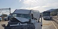 Kocaeli'de zincirleme trafik kazasında 5 kişi yaralandı
