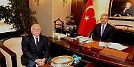 Köşker'e Erzurum'dan Konuk Başkan!