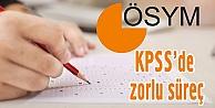 KPSS'de zorlu süreç