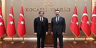 Kültür ve Turizm Bakan Yardımcısı Demircan, Vali Aksoy'u ziyaret etti