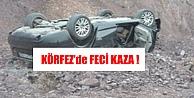 Otomobil Harfiyat Alanına Düştü..