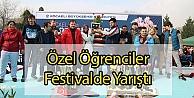 Özel Öğrenciler Festivalde Yarıştı
