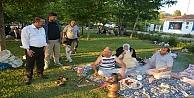 Toltar Piknik Yapan Aileleri Ziyaret Etti