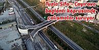 Tuzla Şifa – Çayırova bağlantı köprüsünde çalışmalar sürüyor