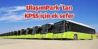 UlaşımPark'dan KPSS için ek sefer hizmeti