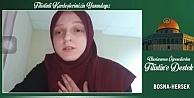 Uluslararası Öğrenci Derneği üyelerinden Filistin'e video mesajlı destek
