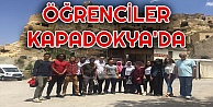 Uluslararası Öğrenciler Kapadokya'yı gezdi
