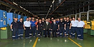 Vali Aksoy Bekaert Fabrikası'na Ziyarette Bulundu