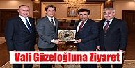 Vali Güzeloğlu'na ziyaret