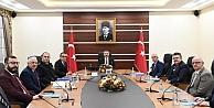 Valilikte Kovid-19 tedbirleri toplantısı yapıldı