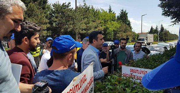 Törk'ten Flormar işçsine destek