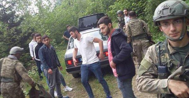 Trabzonda patlama: 2 asker yaralı