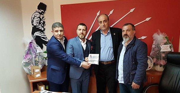 Trabzonlulardan CHP Ziyareti
