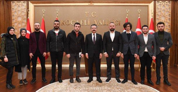 Trabzonlulardan Vali Aksoya ziyaret
