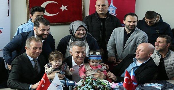 Trabzonspor Kulübü Başkanı Ahmet Ağaoğlu, Kocaeli'de etkinliğe katıldı