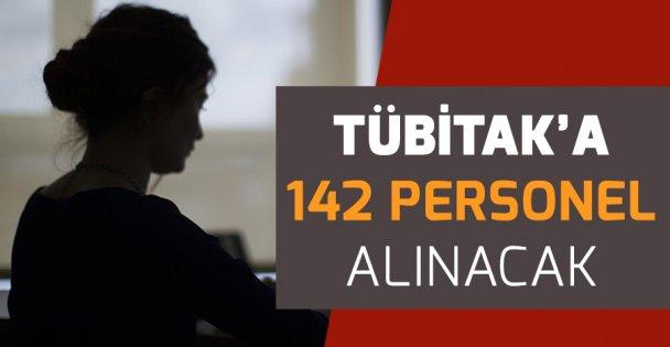 TÜBİTAK'a 142 personel alınacak