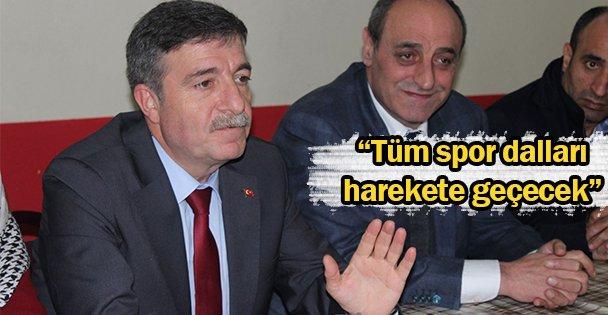 """'Tüm spor dalları harekete geçecek"""""""